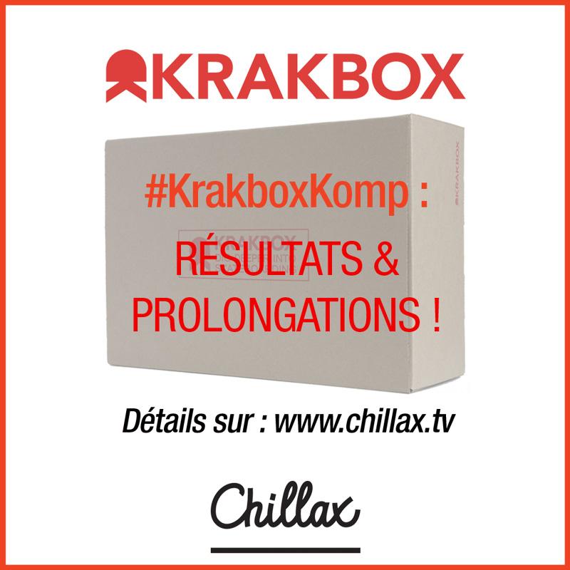 #Krakboxkomp chillax krak résultats et prolongations