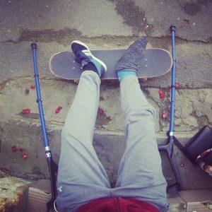 Platre and skate