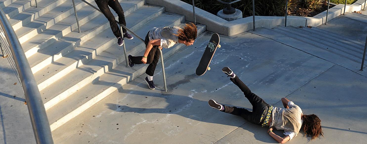 Skate, blessures et rééducation