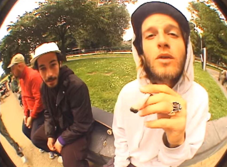 lost in the dam - magenta skateboards