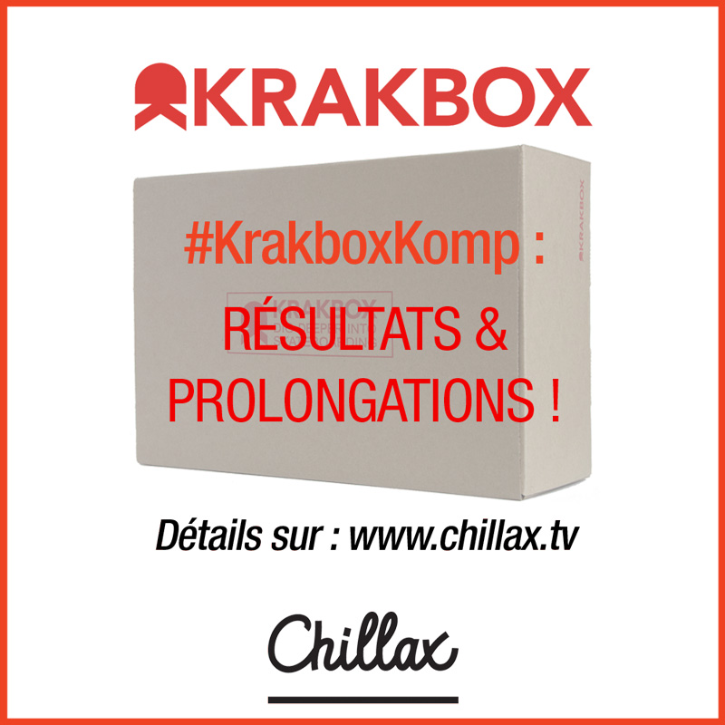 Krakboxkomp chillax krak résultats et prolongations