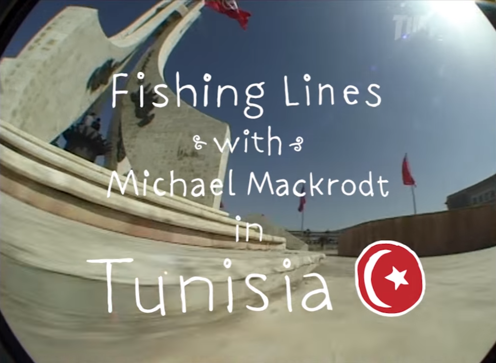 Michael Mackrodt Fishing Lines Tunisia