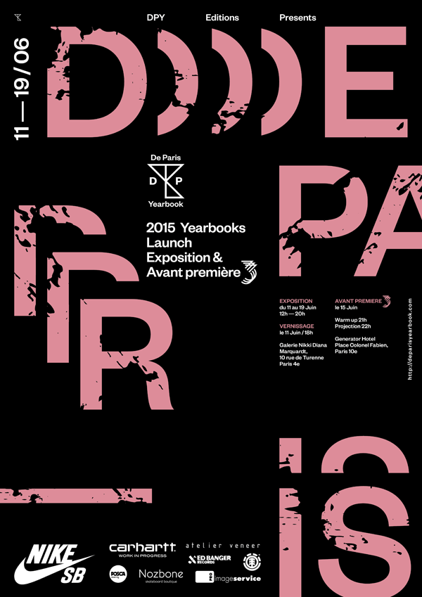 De Paris Yearbook 2015 vernissage exposition