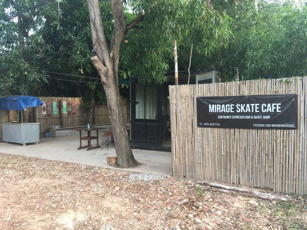 Mirage Skate Café Siem Reap