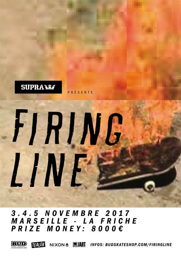 Marseille Firing Line Supra Novembre 2017