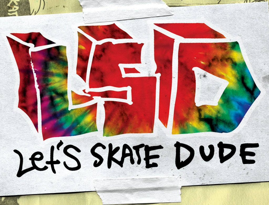 Lets skate dude Krooked Skateboarding