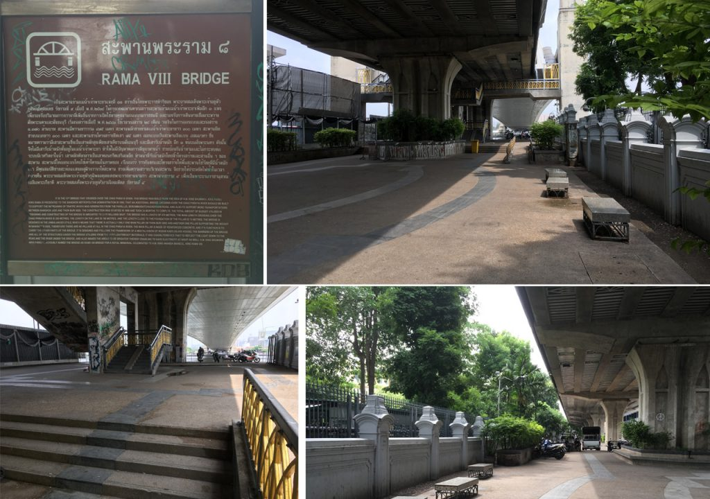 RAMA 8 BRIDGE BANGKOK SKATEBOARD