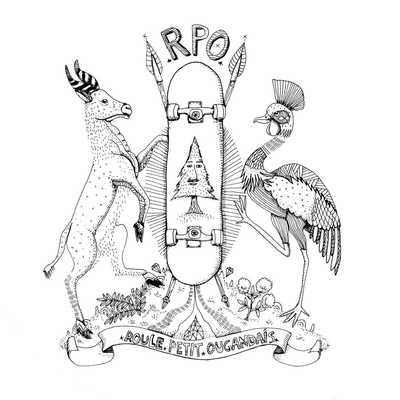Logo Association Roule Petit Ougandais