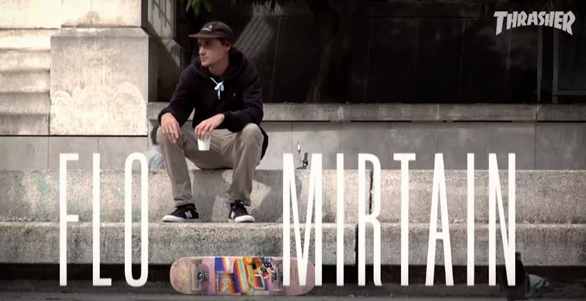 Flo mirtain Habitat skateboards pro part