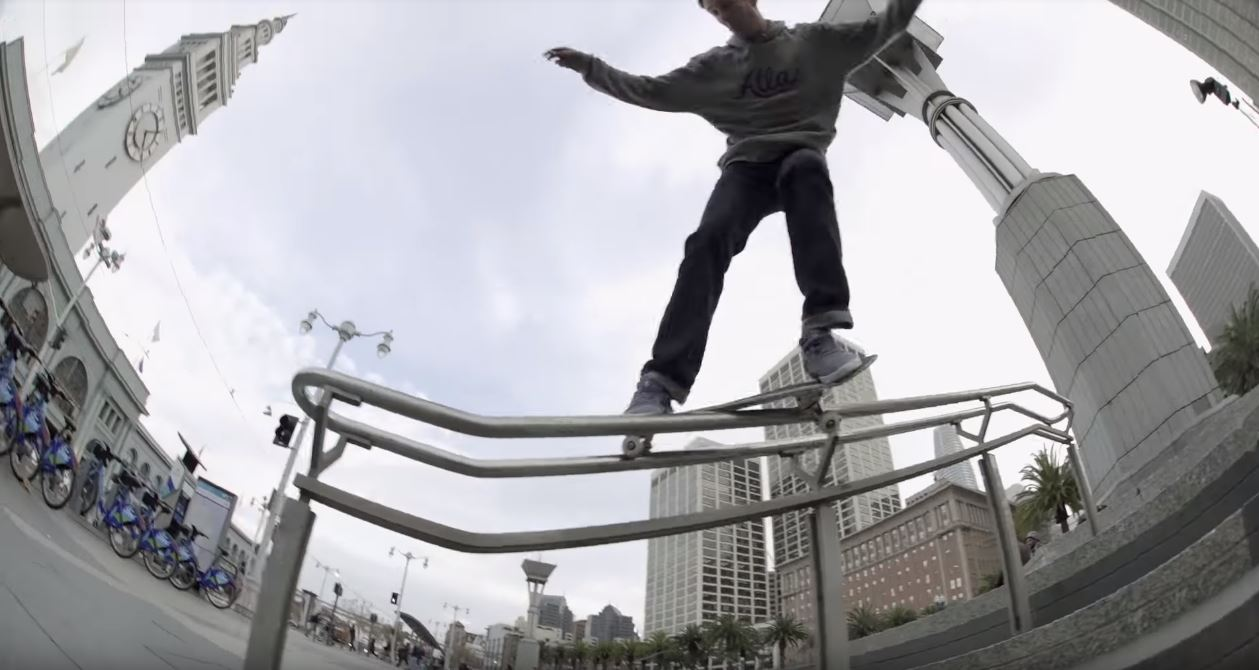 mark suciu adidas skateboarding full part